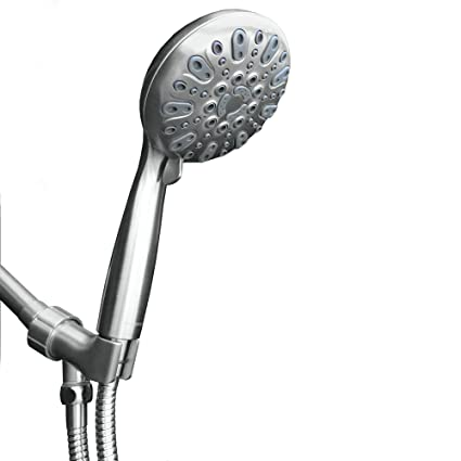 ShowerMaxx | Elite Series | 6 Spray Settings 5 inch Hand Held Shower Head | Extra