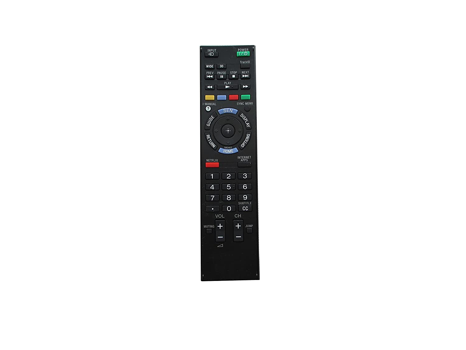 RM-YD075 Replaced Remote fit for Sony LED TV KDL-40EX640 KDL ...