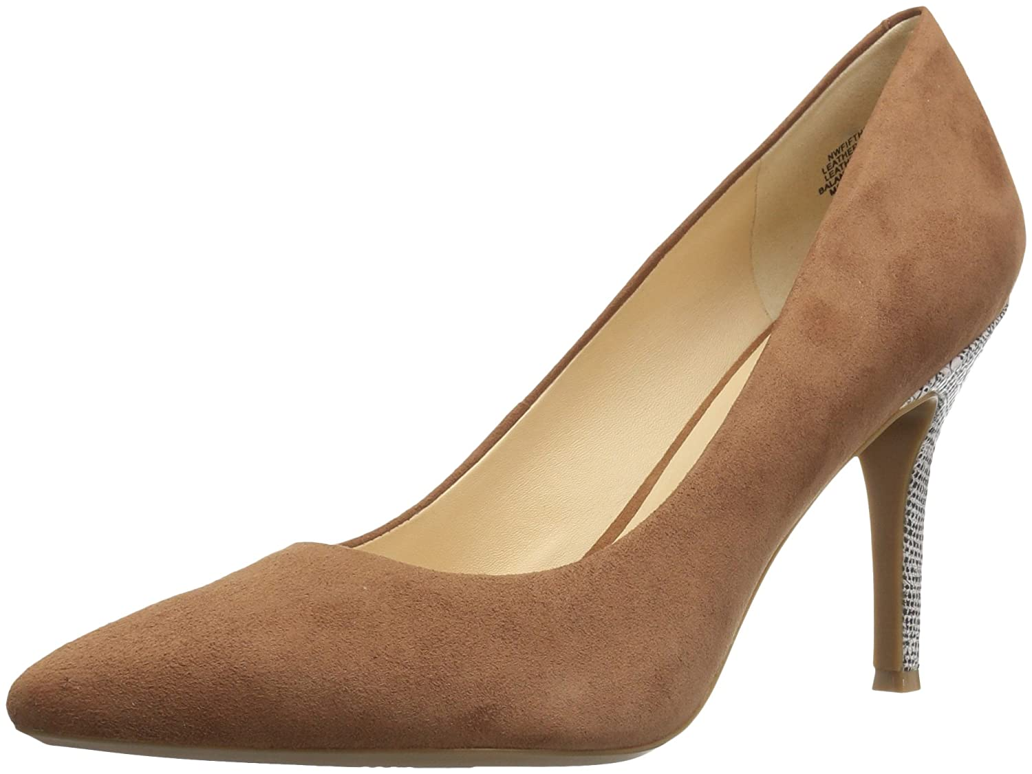 Nine West Women's FIFTH9X Fifth Pointy Toe Pumps B01N6CAMAD 11 B(M) US|Dark Natural Suede