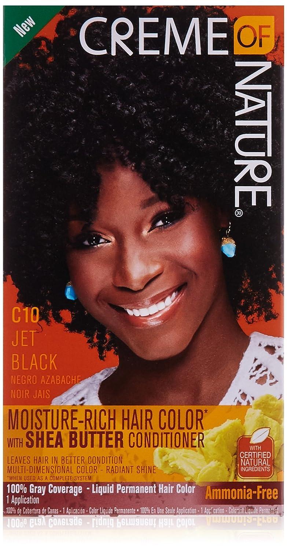 Creme of Nature Liquid Hair Color, Jet Black