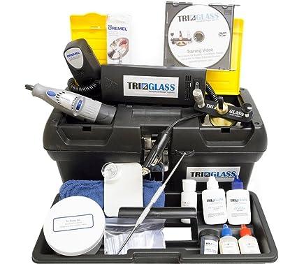 dcad5f51ff8 Amazon.com  Tri Glass Quality Windshield Repair Kits (Tri Glass TRI 15  Essential Windshield Repair Kit)  Automotive