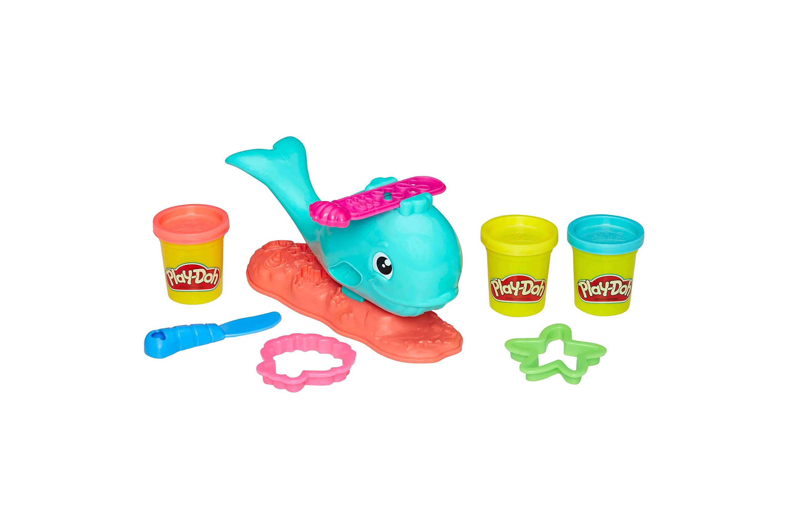 Play-Doh Wavy the Whale + Play-Doh Plus Compound Bundle