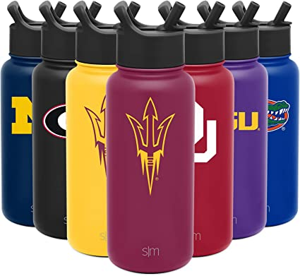 NCAA Florida State Seminoles 40oz Double Wall Stainless Steel Outdoor Thermos