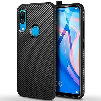 ivencase Funda Huawei P Smart Z Silicona, Carcasa Ultra Slim Flexible TPU Bumper Antigolpes Anti-arañazos Protector Case Cover para Huawei P Smart Z ...