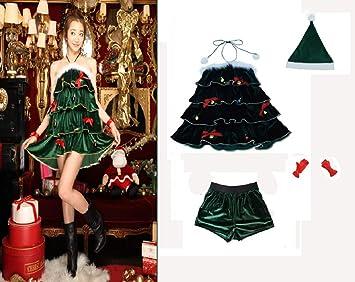 Traje Señoras Navidad Árbol Trajes la Tapa Del Árbol de Navidad ...