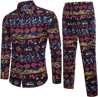 Mounter - Camisa Casual - Escotado por detrás - Animal Print - con Botones - Manga Corta - para Hombre Azul Azul Marino XX-Large: Amazon.es: Ropa y accesorios
