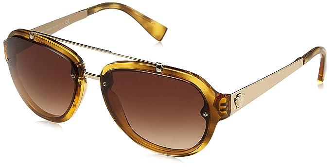 Versace 0Ve4327, Gafas de Sol para Hombre, Havana, 57 ...