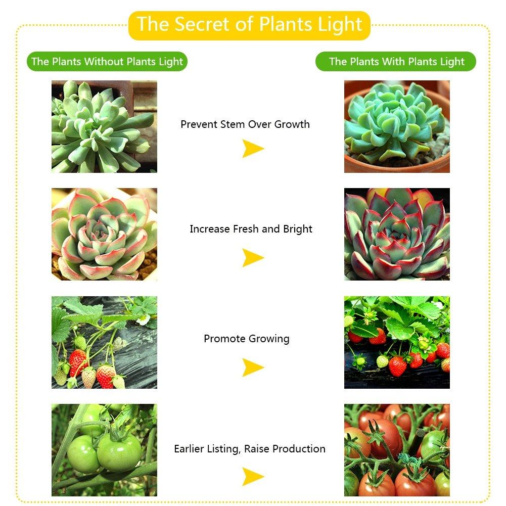 para Interior,Invernadero,Hydroponic Planta Crecimiento 120 LED Crece la Luz 1200W Brillo Estupendo Colgante LED Grow Ligero Panel Completo Espectro Planta Creciente Luz