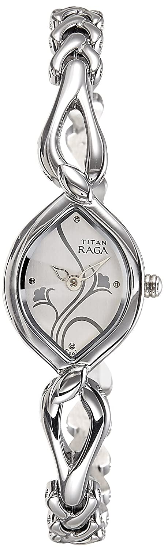 Titan Raga Gold/Silver Metal Jewellery Design Analog Wrist Watch