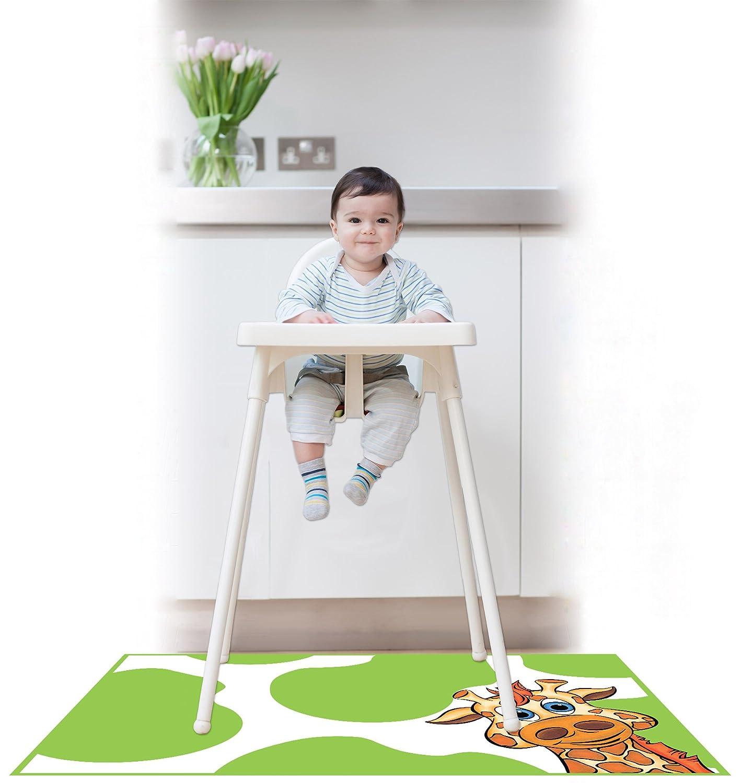 amazon com kidkusion high chair splat mat orange baby
