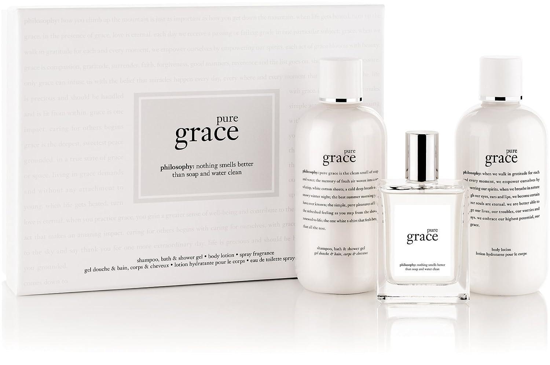 Amazon.com : Philosophy pure grace gift set ($81 value)-3 ct. : Beauty