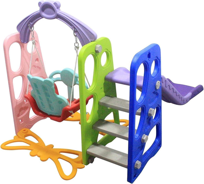 Easy Set Up Baby Slide for Indoor Outdoor Backyard Extra Long Slide Kids Play Climber Slide Playset with Basketball Hoop Climber Slide Set Boddenly Toddler Slide and Swing Set 3 in 1
