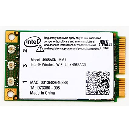 Dell Latitude D830 Intel Wireless WiFi Link 4965AGN Driver for Mac Download