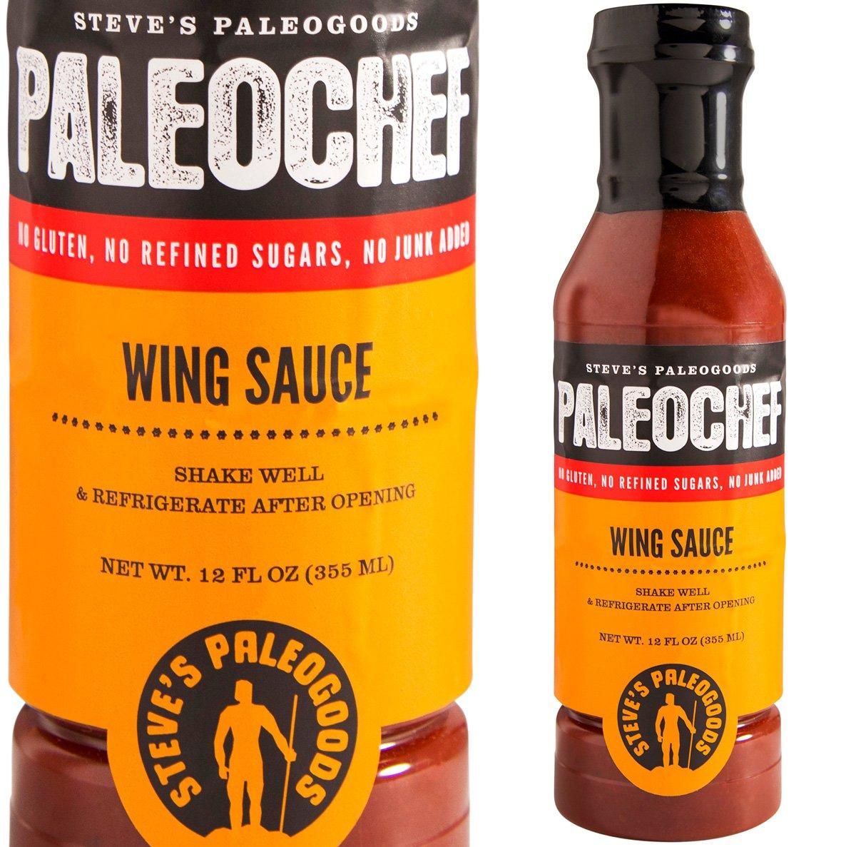 Steve's PaleoGoods, PaleoChef Buffalo Wing Sauce, 12 oz by Steve's PaleoGoods