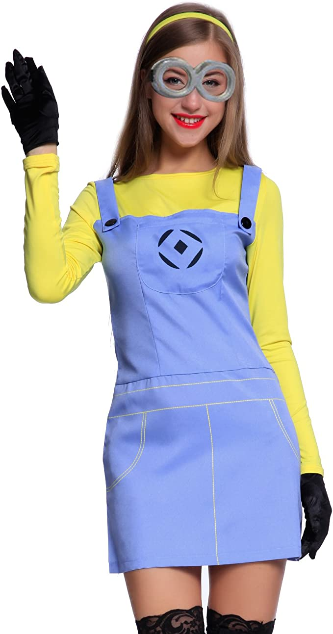Adultos Cosplay Minions Minion kostuem Despicable Me Fancy Dress ...
