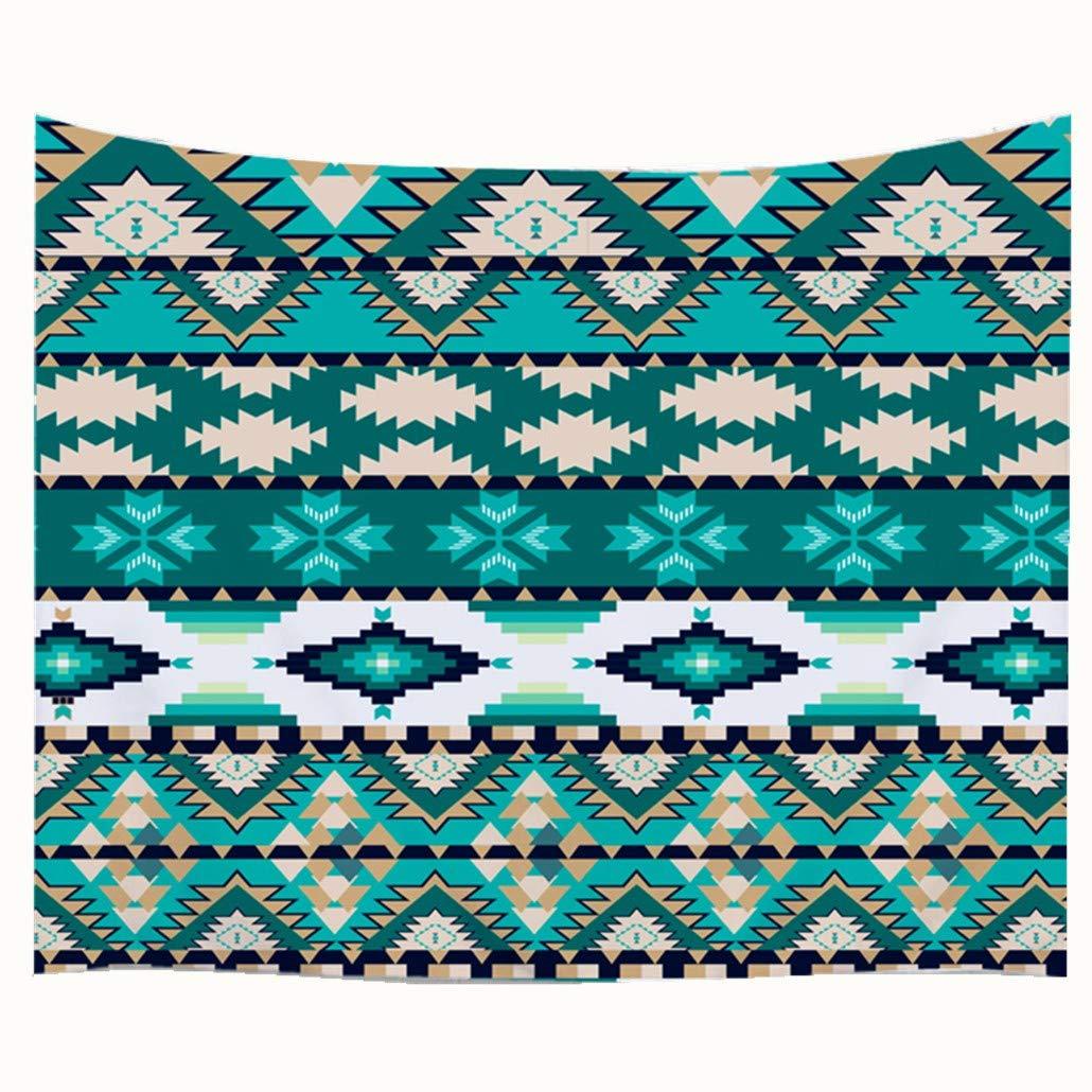 Goodbath Small Tapestry, Coast of Beach at Sunrise Time Fabric Wall Hangings, 60' x 40', Orange Blue Brown 60 x 40 GDA1019