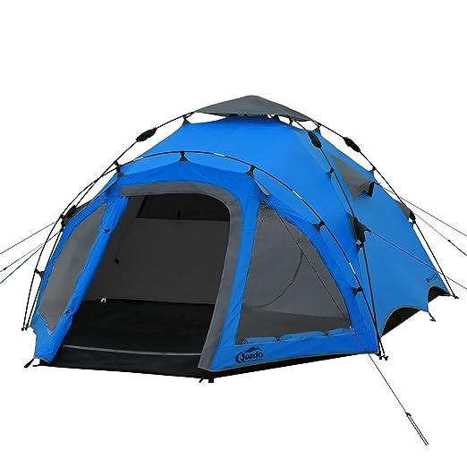 7 opinioni per Qeedo Quick Oak 3 Tenda Automatica 3 persone Tende igloo (Quick Up System)- blu