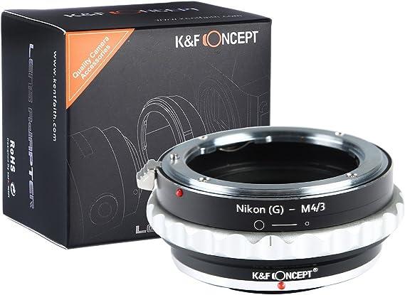 K F Concept Nikon Ai M4 3 Objektiv Adapter Mit Elektronik