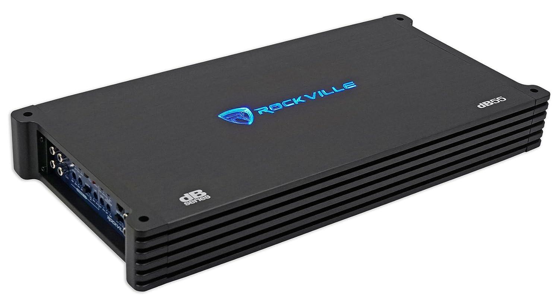dB45 Loud!! Rockville 3200w Peak 800w RMS @ 4 Ohm CEA Compliant Mono Car Amplifier