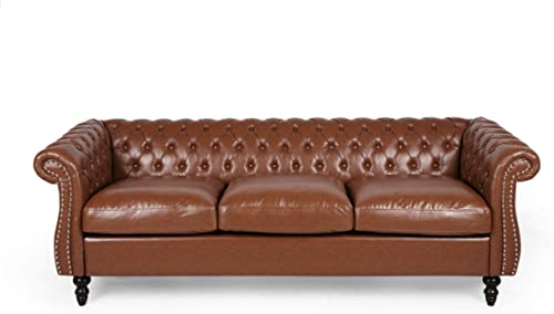 Christopher Knight Home Quentin Chesterfield Tufted Sofa