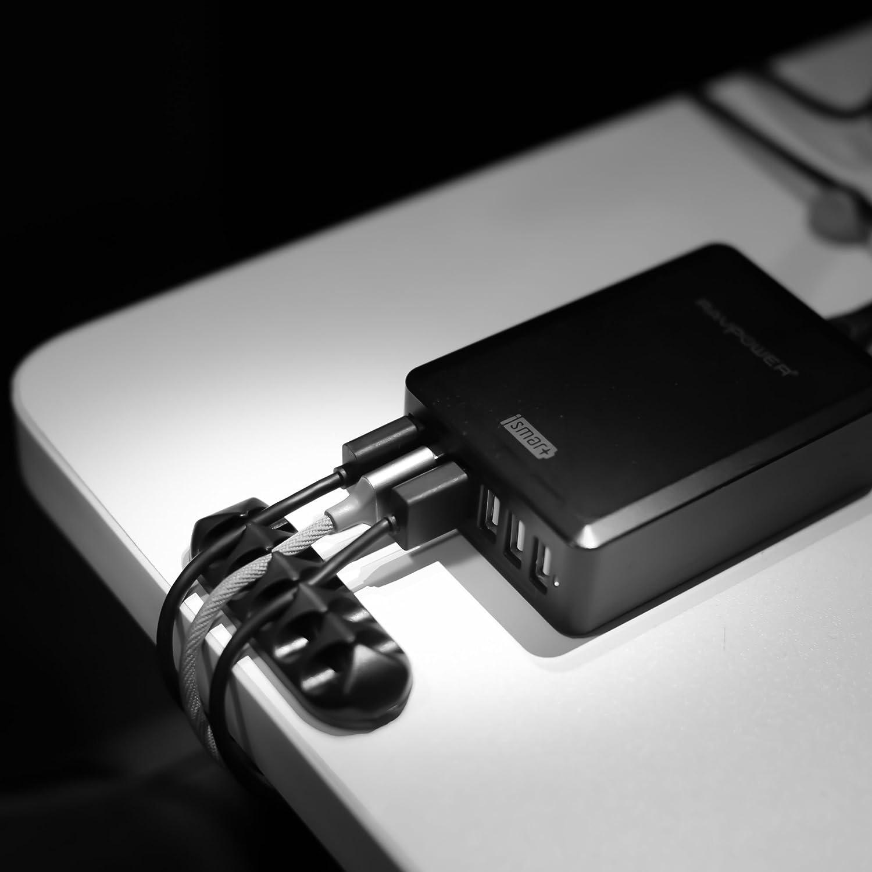 iSHOXS selbstkl. Kabel Clip, Kabel Organizer mit: Amazon.de: Kamera