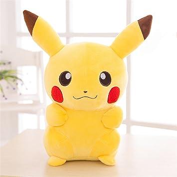 Peluches Pokemon Pikachu Plush Doll Mejor Regalo de Niño Cumpleaños Navidad Día de San Valentín (