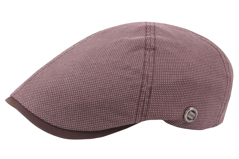 AIEOE Men's Fashion Beret Cap Sun Protection Newsboy Caps Cabbie Hat - Khaki