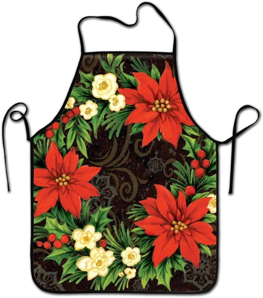 RESULT LOVE Cemetery Inspirational Angel Arms Double Cooking BBQ Apron Adjustable Apron for Kitchen