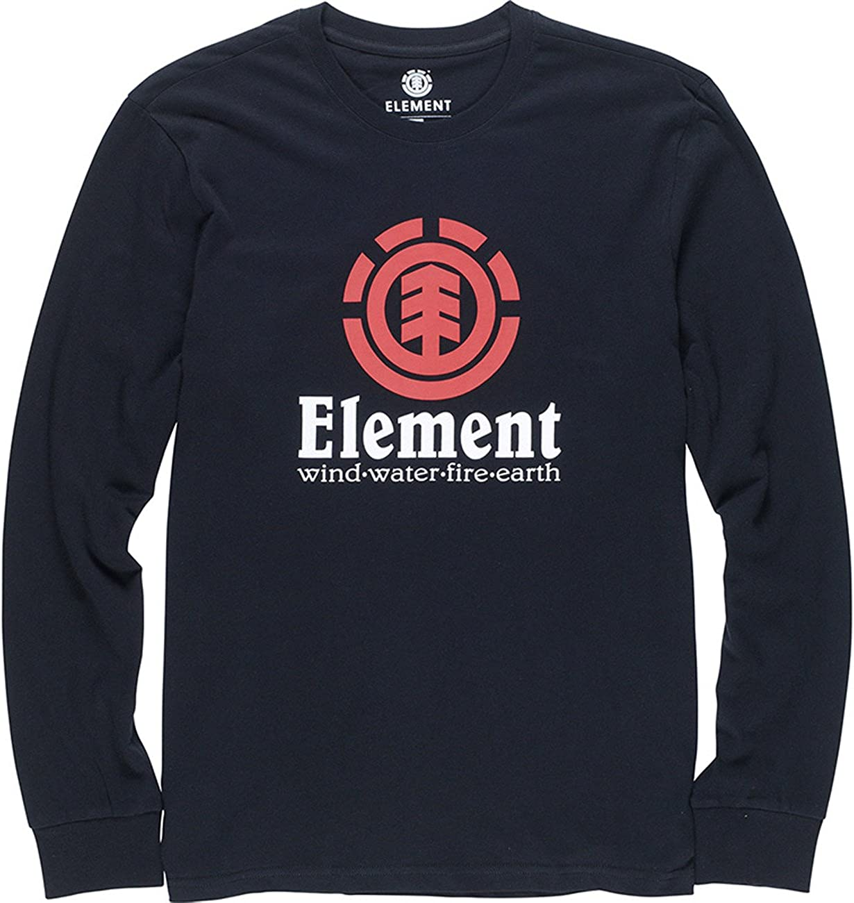 Element Signature Tee Flint Black Element Men/'s Clothing T-Shirts