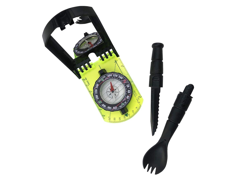 Ka Bar スポークとコンパスコンボ ハイキングやアウトドアのレクリエーションに。 キャンプスポークと減衰コンパス。   B07HWVR8TT