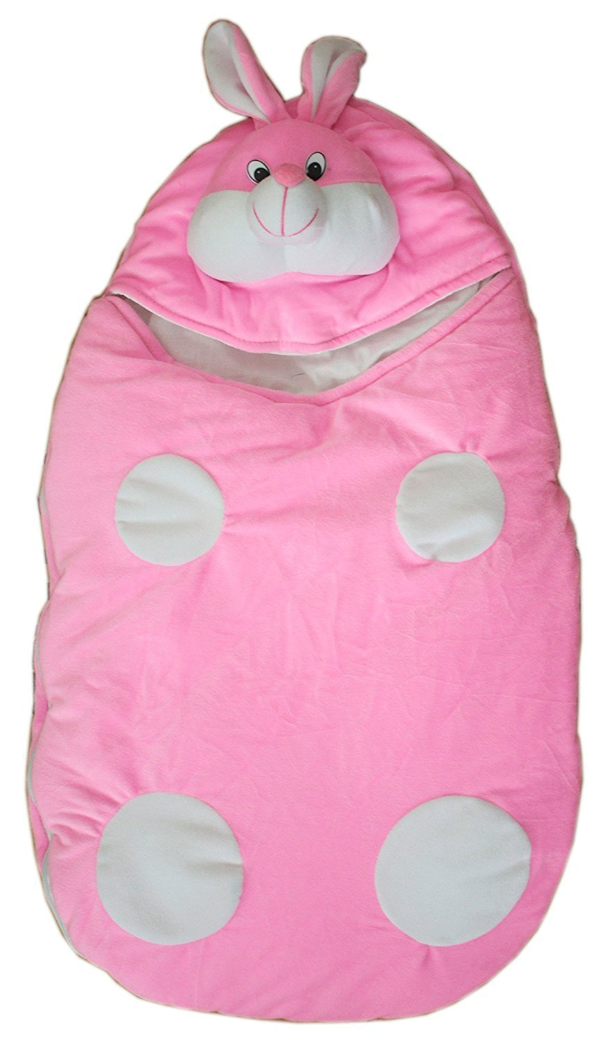 Gomani Baby Sleeping Bag Pink Rabbit