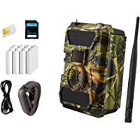 ICUserver 3G Wildkamera (3G GPRS GSM), 3G Überwachungskamera, FOTOAPP, Jagdkamera, 0,4s Auslösezeit, Fotofalle, SIM-Karte inkl, europaweiter Empfang, Batterien & 8 GB SD Karte