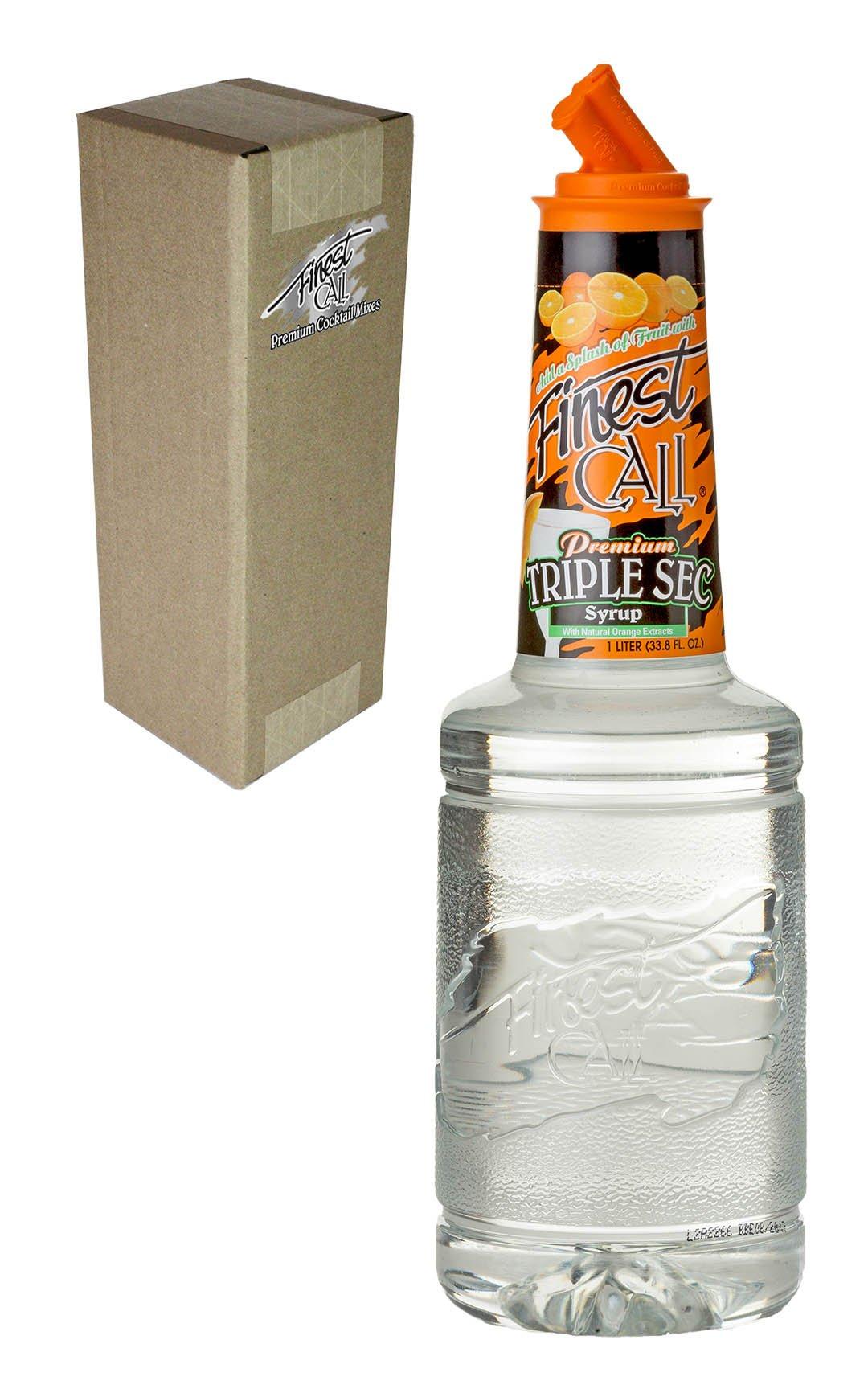 Finest Call Premium Blue Curacao Drink Mix Bottle