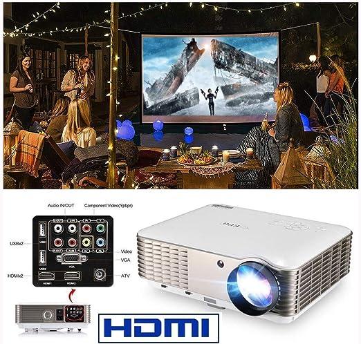 Ai LIFE Proyector de Video LCD HD 8500 Lumen Proyector Multimedia ...