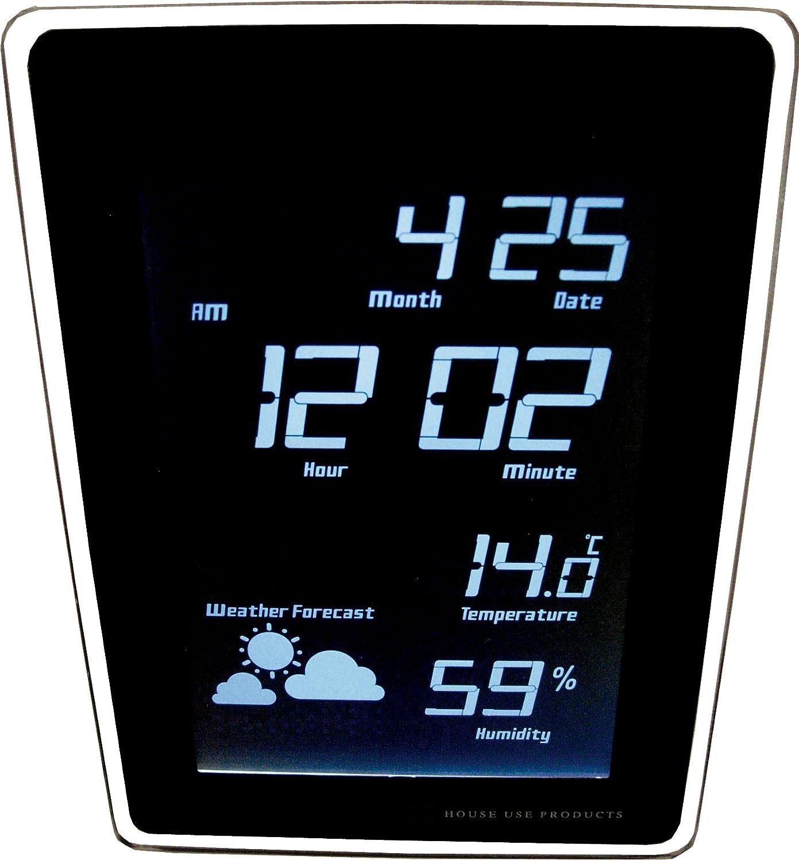 HOUSE USE PRODUCTS(ハウスユーズプロダクツ) LED 時計 TIDE ホワイト ACL068 [正規代理店品] B00426BWLEホワイト