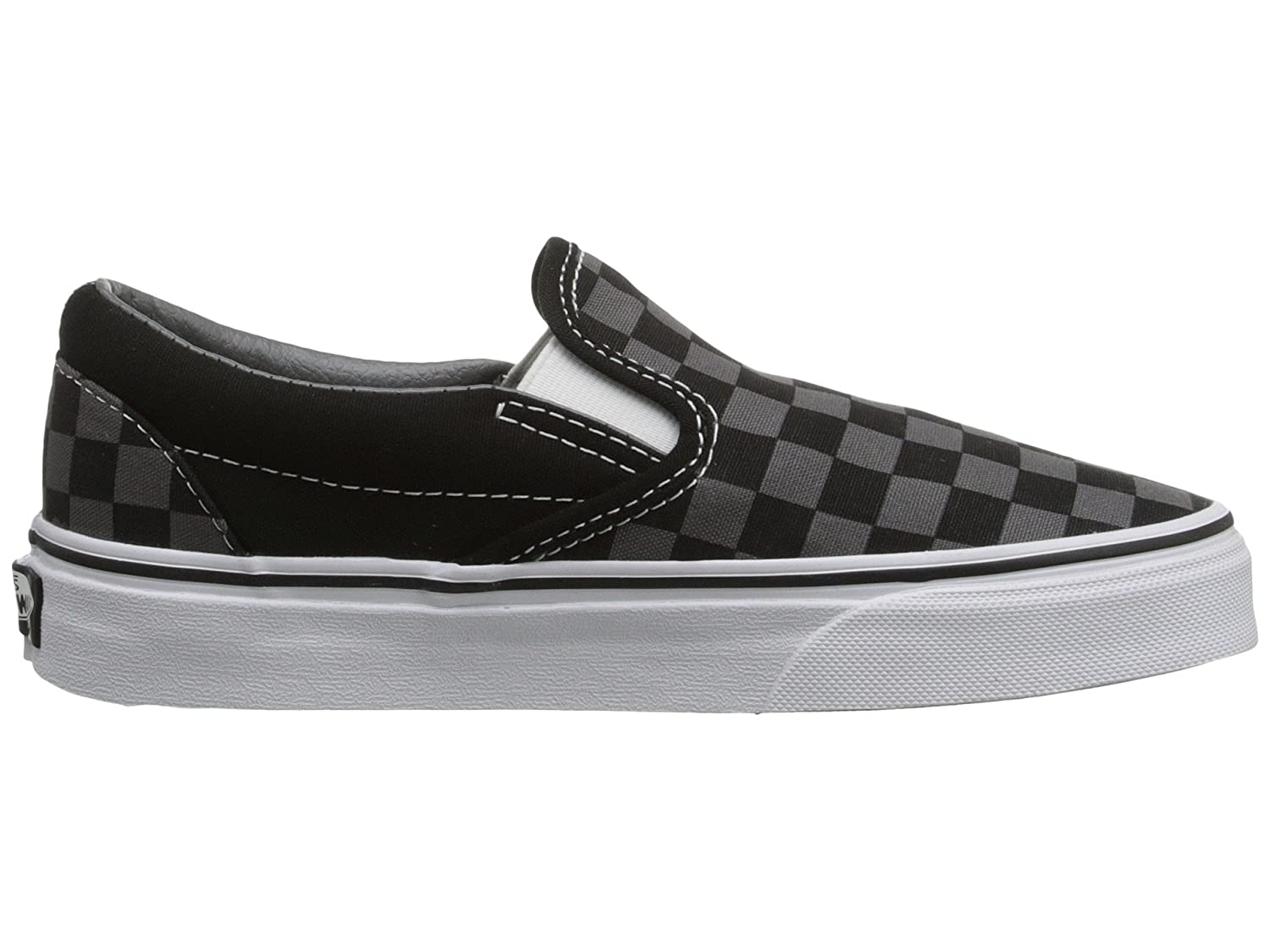 Vans Men's Classic Slip Skateboarding On (Suede & Suiting) Skateboarding Slip Shoes B01M21DCW9 14.5 B(M) US Women / 13 D(M) US Men|Black Pewter Grey Checkerboard 104aa4