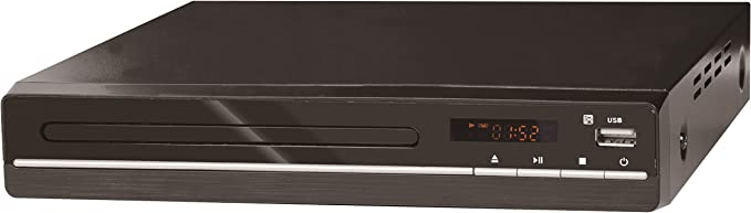 Reflection Dvd361 Dvd Player With Hdmi Usb And Remote Control Black Home Cinema Tv Video