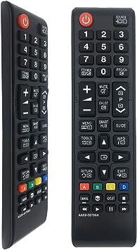 Mando a Distancia AA59-00786A Reemplazo Compatible para Samsung 3D / Smart TV/Fútbol/LCD/LED, aplicable BN59-01175N BN59-01199F AA59-00786A AA59-00602A BN59-01247A AA59-00741A: Amazon.es: Electrónica