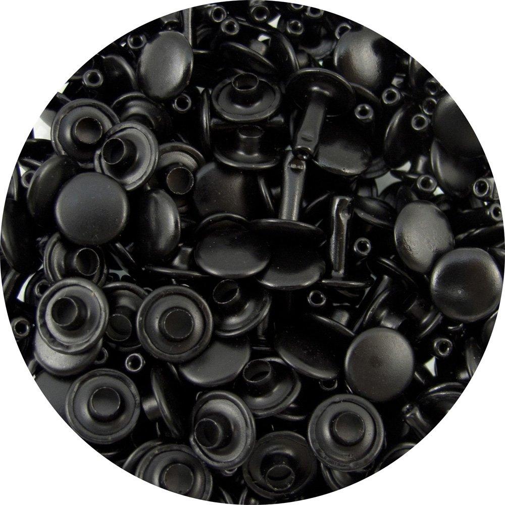 Springfield Leather Company's Black Large Double Cap Rivets 100pk Hide House