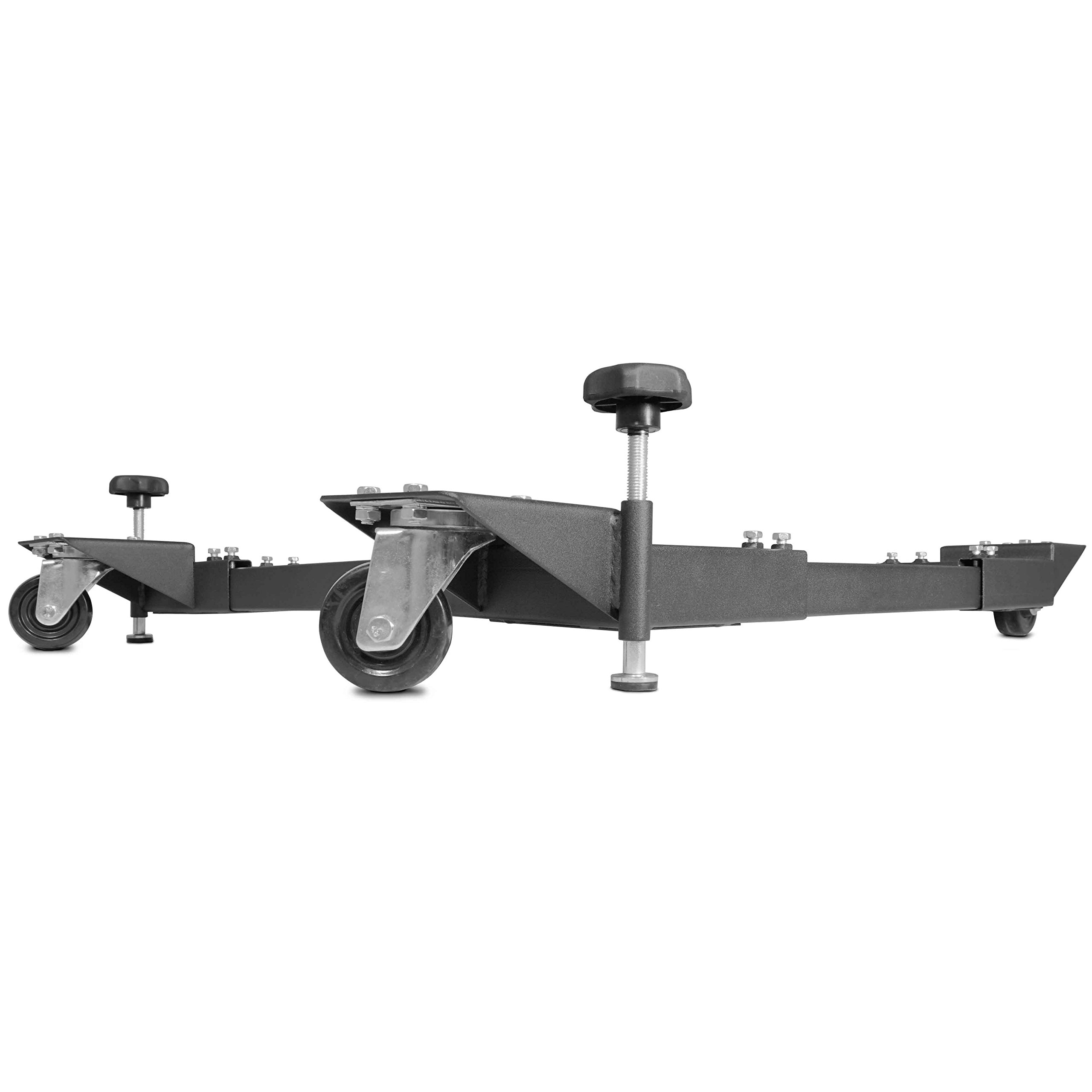 Titan Adjustable Mobile Base Dolly 600 lb Capacity HD Universal Power Tools - Make Your Workshop Portable & Easy To Use by Titan Attachments (Image #4)