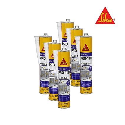 Sikaflex Pro 11 FC Adhesive Sealant 300 ml Pack of 6 White
