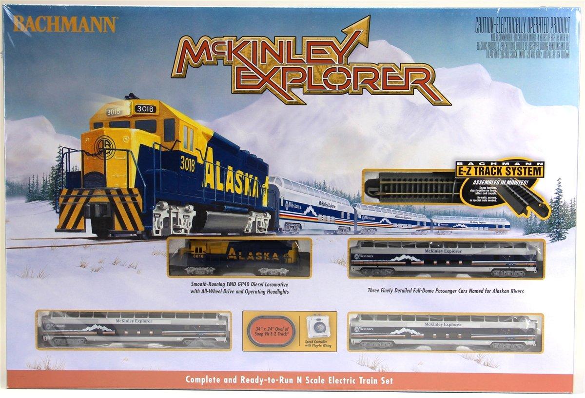 Bachmann Industries McKinley Explorer Ready to Run Set Treno Elettrico Treno Auto Scala N