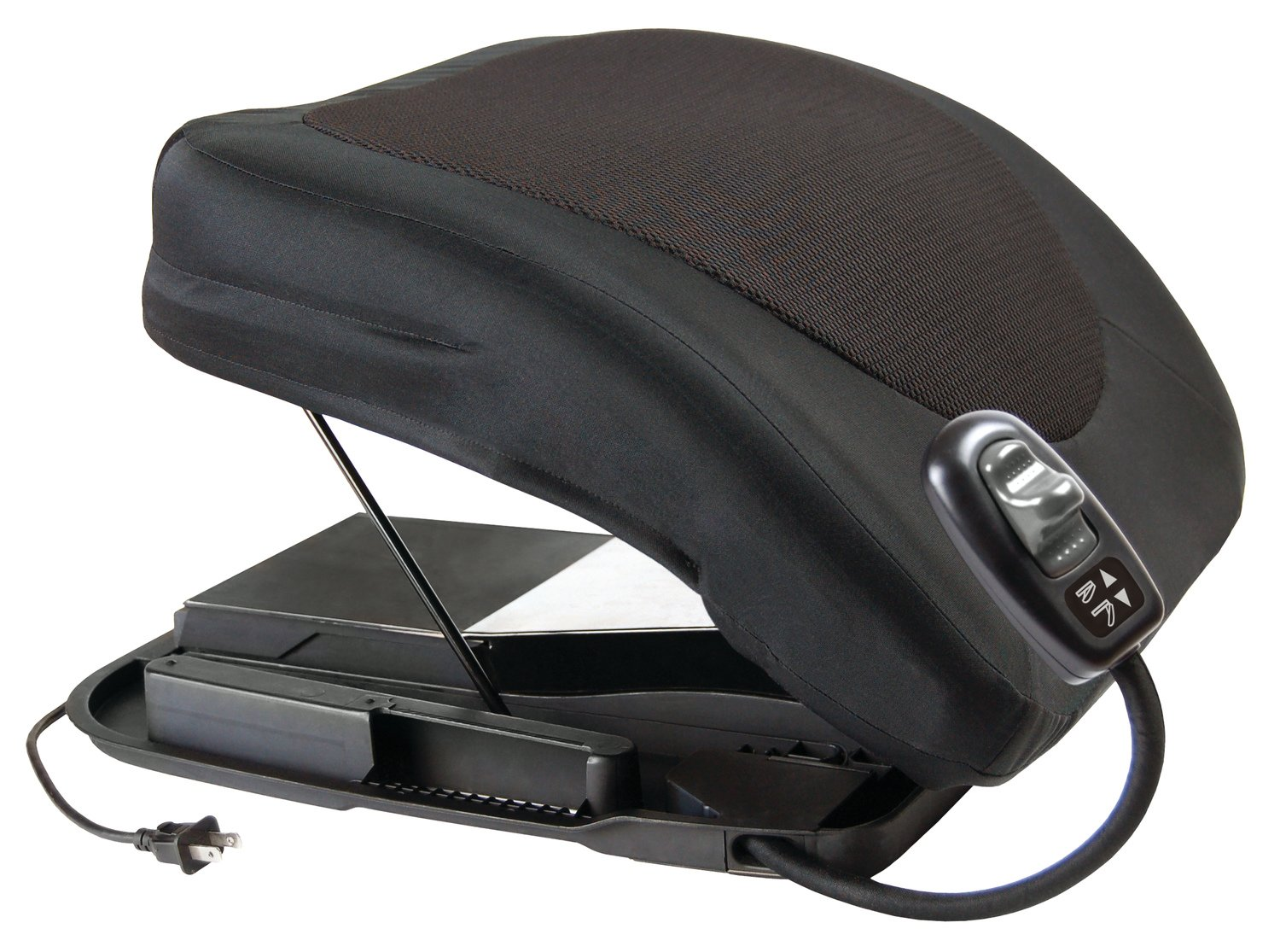Carex Health Brands Premium Power Lifting Seat, Black, 20 Inches