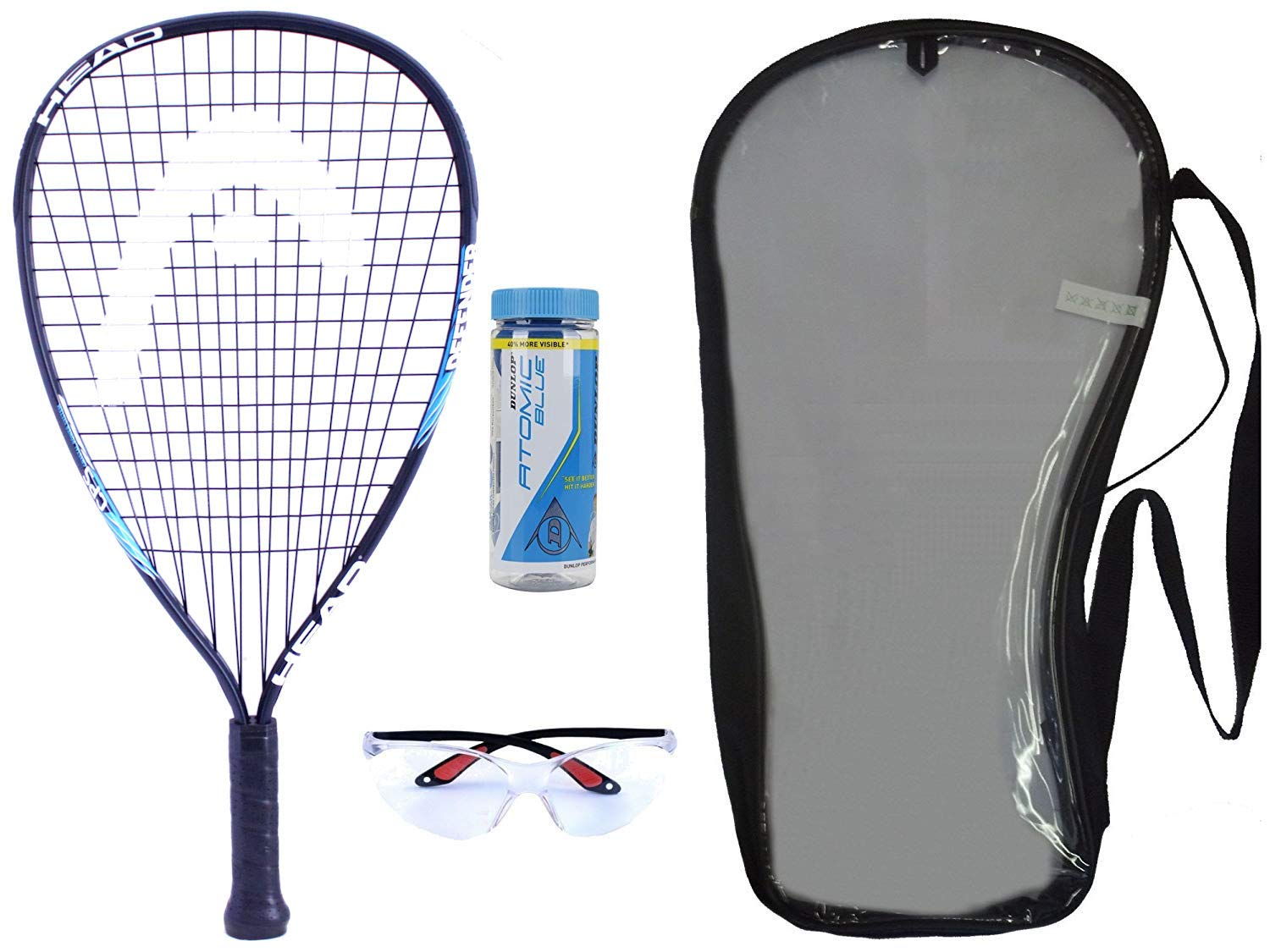 Python Racquetball Deluxe Racquetball Starter Kit Series – Best Beginner Racquetball Racquet