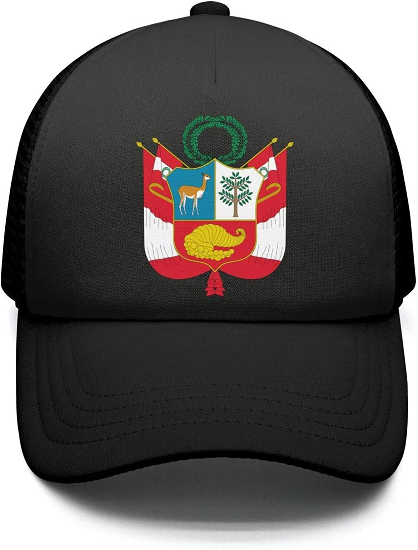 Kids Boys Girls Sandwich Hat Niger National Emblem Adjustable Baseball Cap