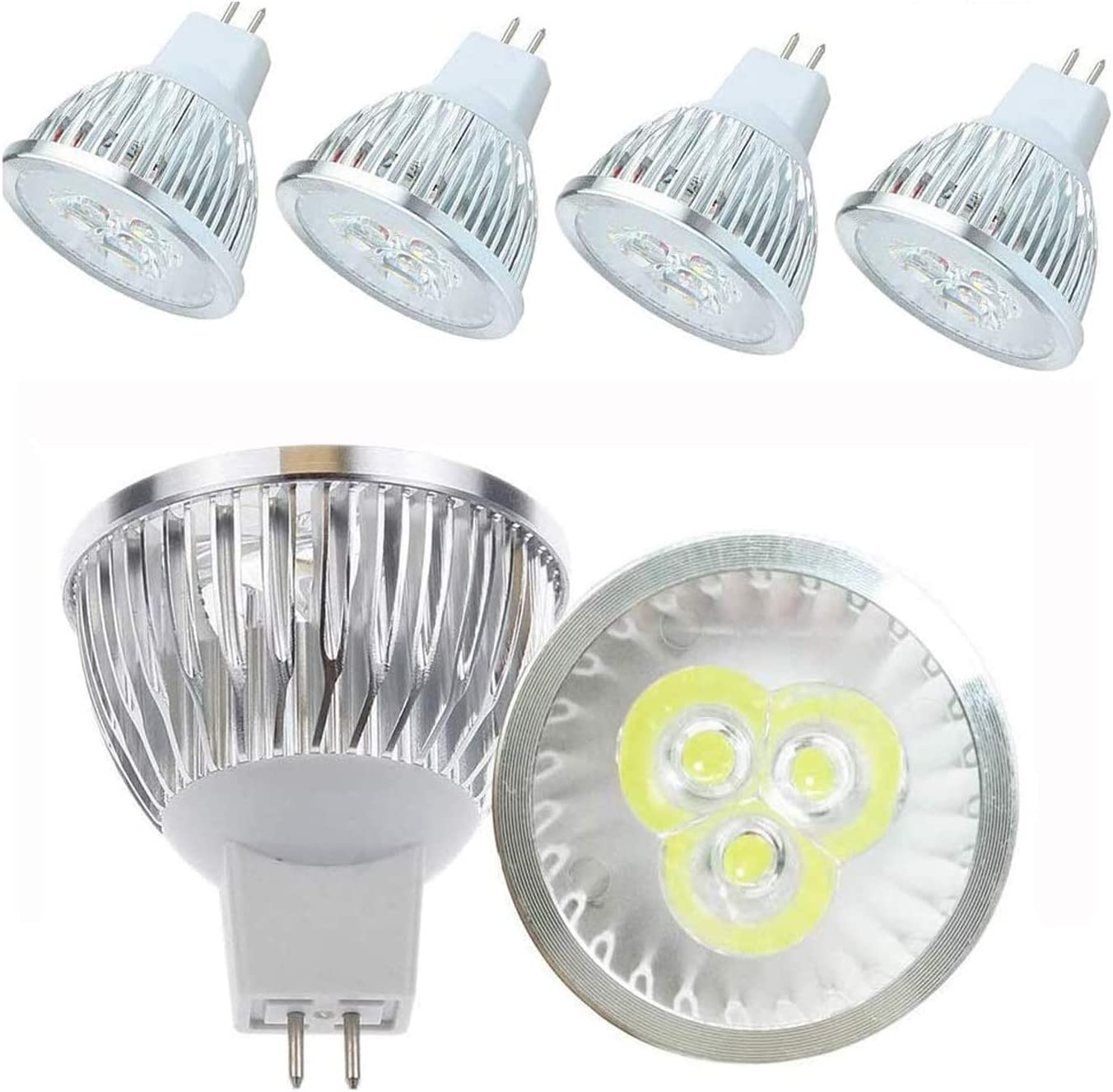 Brand New TCP LED Spotlight MR16 Non Dimmable 345Lm 5W Replacement 35W Lightbulb