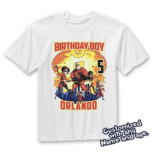 c43558d5 Amazon.com: Incredibles birthday Shirt, Incredibles Birthday T-Shirt,  Incredibles birthday, Incredibles shirt: Handmade