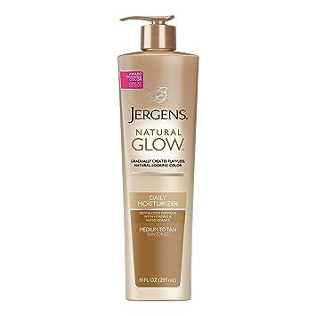 amazon com jergens natural glow daily moisturizer for body medium