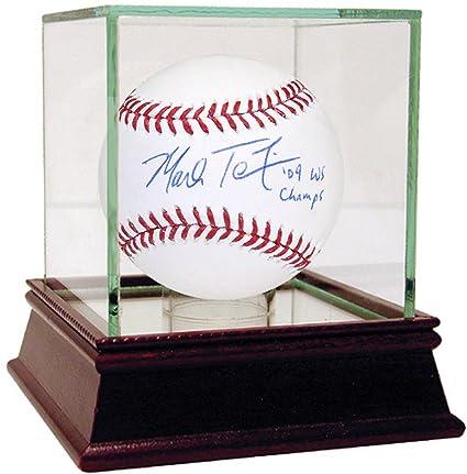 Baseball-mlb Steiner Mark Teixeira Signed Mlb Baseball W/ 09 Ws Champs Insc. Balls