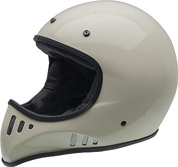 NZI Mad Carbón Casco De Moto(Bone,X-Grande)